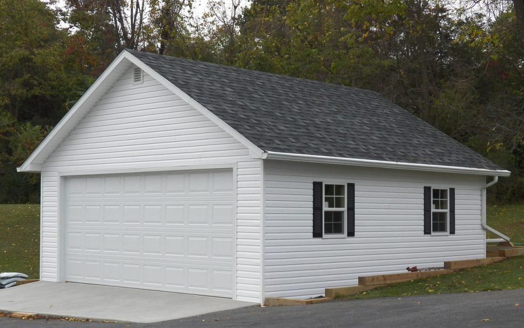 La meilleure technique pour choisir l'emplacement d'un garage en bois